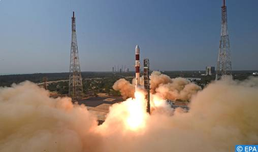 L'Inde met en orbite 19 satellites d'observation de la Terre