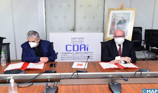 Droit d'accès à l'information : Convention de partenariat et de coopération entre la CDAI et le CCME