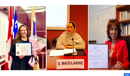 Hommage à l'engagement citoyen de femmes marocaines au Canada