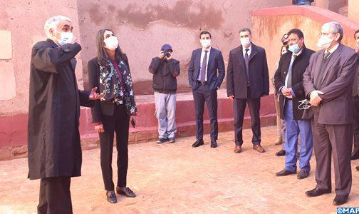 Ouarzazate est une destination touristique de renommée nationale et internationale (Mme Fettah Alaoui)