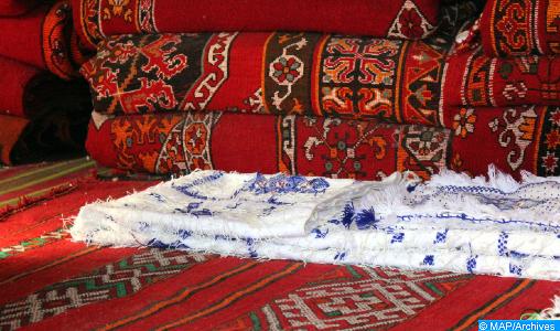 Le tapis amazigh de Zayane, une véritable référence civilisationnelle de l'identité marocaine