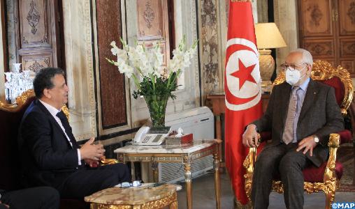 M. Ghannouchi résolument attaché au renforcement des relations maroco-tunisiennes et au rêve maghrébin