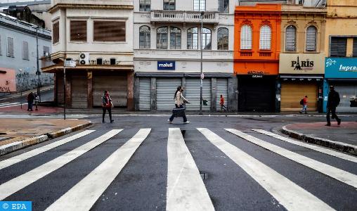 Sao Paulo, le cœur battant du Brésil ralenti par la pandémie