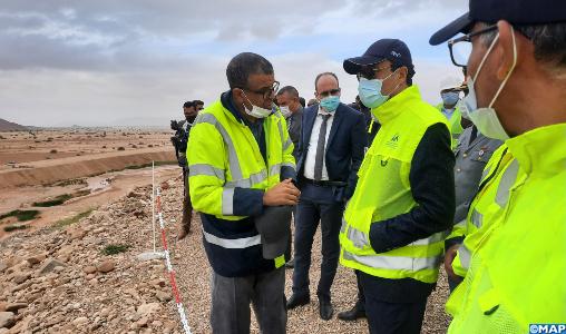 """Le barrage Fask près de Guelmim, le plus grand du Sud marocain, aura des retombées socio-économiques « très importantes"""" (M. Amara)"""