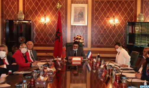 France/Maroc: 1ère réunion conjointe des groupes d'amitié du Sénat et de la Chambre des Conseillers depuis le début de la pandémie