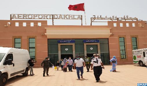 Aéroport Dakhla: Plus de 2.200 passagers internationaux entre le 15 juin et le 31 août (ONDA)