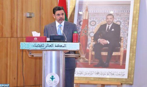 La réforme et la moralisation de la justice est une responsabilité qui incombe à tous les Marocains, chacun selon ses moyens légitimes (M. Abdennabaoui)