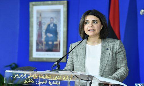 Le partenariat stratégique Maroc-Libye est capital pour toute la région (ministre libyenne des AE)