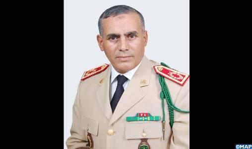 SM le Roi, Chef Suprême et Chef d'État-major Général des FAR nomme le Général de Corps d'Armée, Belkhir El Farouk, Inspecteur Général des FAR, Commandant la Zone Sud (EM des FAR)