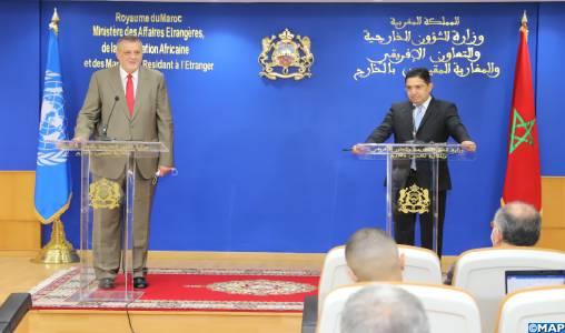 Crise libyenne: M. Bourita souligne la nécessité de bâtir sur les progrès réalisés pour réussir les élections de décembre
