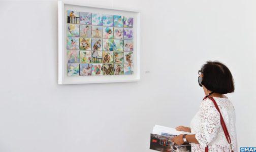 "Fondation Mohammed VI: Exposition de Samira Ait El Maalam sous le thème ""Vortex"""