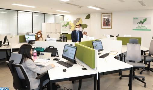 """Inauguration à l'AMEE d'une """"War Room"""" dédiée à la promotion des projets verts"""