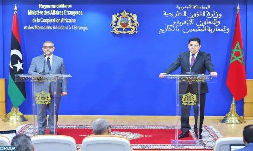 Crise libyenne : le respect du calendrier électoral, l'unique solution pour sortir de la crise (M. Bourita)