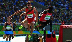 Meeting de Kip Keino d'athlétisme: Soufiane El Bakkali remporte le 3.000 m steeple