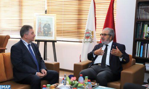 Le Directeur général de la MAP s'entretient avec l'ambassadeur de la Bulgarie au Maroc