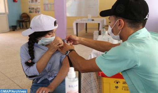 Al Haouz : Batterie de mesures pour accélérer la cadence de vaccination anti-Covid des élèves 12-17 ans