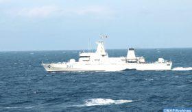 La Marine Royale porte assistance à 310 candidats à la migration irrégulière, en majorité des Subsahariens (source militaire)