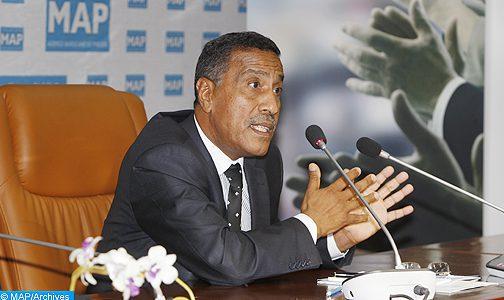 Scrutin du 5 octobre: M. Moukharik exprime sa satisfaction du classement de l'UMT au premier rang des élections du collège des salariés