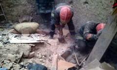 إصابة خمسة أشخاص بجروح وفقدان شخص سادس جراء انهيار ورشة للصناعة التقليدية بالمدينة العتيقة لفاس