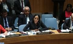 """المغرب يجدد دعمه بالأمم المتحدة """"للجهود الحثيثة"""" للإدارة الأمريكية لاستئناف مسلسل السلام بالشرق الأوسط (بوعيدة)"""