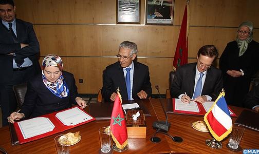 التوقيع بالرباط على اتفاق للشراكة العلمية والبحث العلمي بين المغرب وفرنسا