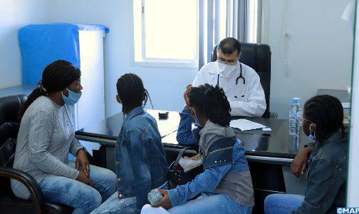 حملة طبية بالرباط لفائدة لاجئين