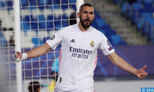 الدولي الفرنسي بنزيمة مصاب بفيروس كورونا (فريق ريال مدريد)
