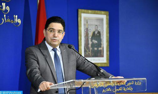 الاختراق المزعوم للهواتف.. كل شخص أو هيئة وجهت اتهامات للمغرب عليها تقديم الدليل (السيد بوريطة)