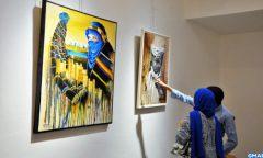 افتتاح معرض تشكيلي جماعي لفنانين من جهة بني ملال – خنيفرة