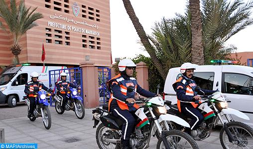 La police touristique, un grand professionnalisme et une stratégie proactive au service du rayonnement international de la Cité ocre
