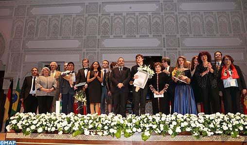 13ème Concours international de piano SAR la Princesse Lalla Meryem : le roumain Macsim Jeffery remporte le grand prix