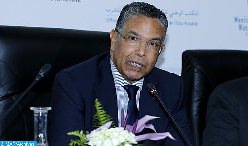 """Le barrage """"Moulay Abderrahmane"""", une grande infrastructure qui permettra d'alimenter la province d'Essaouira en eau potable"""