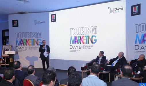 """Grande réussite pour la première édition des """"Tourism Marketing Days"""" (ONMT)"""