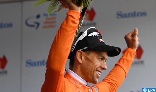 Cyclisme: Richie Porte prend la tête du Tour Down Under