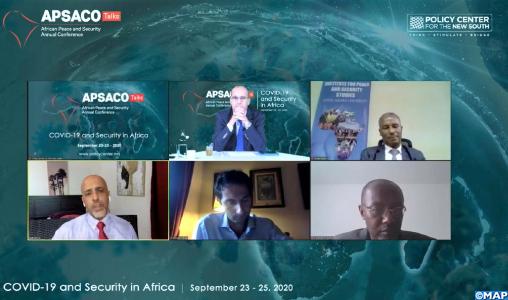 APSACO Talks: le renforcement des capacités et infrastructures étatiques, rempart contre la recrudescence de la violence des groupes extrémistes (experts)
