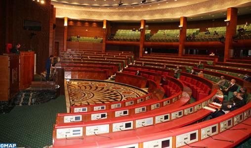Chambre des conseillers : Report au 25 mai de la séance mensuelle sur la politique générale