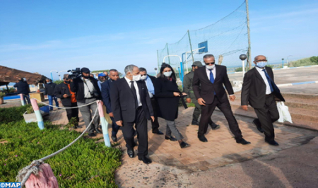 The Minister of Tourism visits several tourist sites in Sidi Ifni and Guelmim