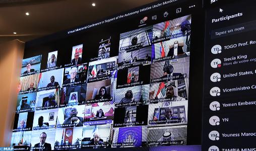 Participation de 40 pays à la Conférence Ministérielle de Soutien à l'Initiative d'Autonomie sous la Souveraineté du Maroc (Encadré)