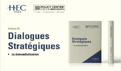 """Parution de l'ouvrage """"Dialogues Stratégiques, la démondialisation"""""""