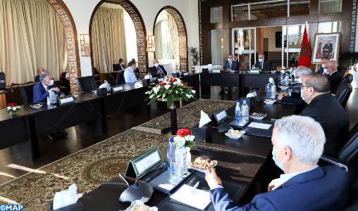 Pacte national pour le développement: Réunion consultative entre les partis représentés au Parlement et la CSMD pour développer une vision commune