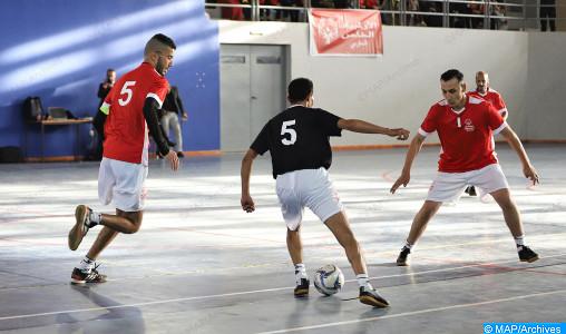 Les demi-finales et la finale de la Coupe du trône de futsal à Laâyoune