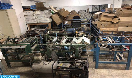 Sacs en plastique: Une unité clandestine démantelée à Nouaceur, plus de 18,6 tonnes saisies (ministère)