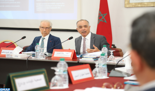 M. Benmoussa présente à la Ligue des associations régionales les conclusions du rapport sur le NMD