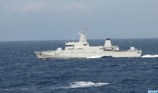 La Marine Royale porte assistance à 344 candidats à la migration irrégulière à majorité subsahariens
