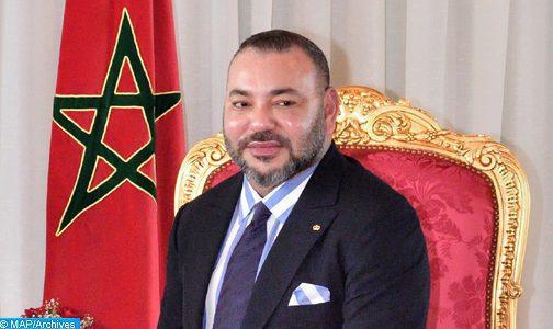 عيد العرش: أمين عام جامعة الدول العربية صاحب الجلالة.  الف مبروك للملك