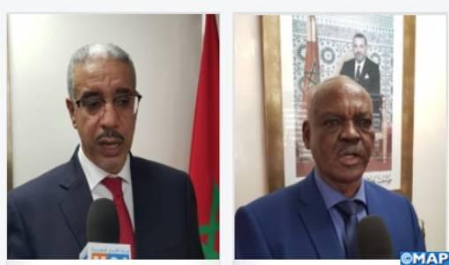 Les perspectives de partenariat dans le secteur minier au menu d'un entretien de M. Rabbah avec son homologue soudanais